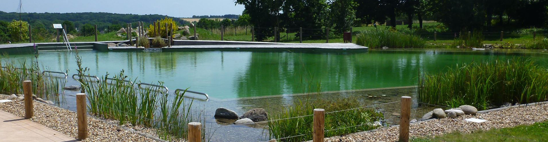 Espace bassin naturel parc natur o for Tarif piscine naturelle